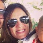 Paula Chaves cumplió un sueño con su hija Olivia