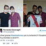"""Pedro Alfonso recibió una visita especial en la función de """"Casa Fantasma"""""""