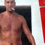 Maxi López, con varios kilos encima y fumando