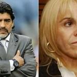 Diego Maradona embrago las cuentas de Claudia en Miami