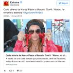 Nancy Pazos no se cansa de hacer el ridículo ahora hace una encuesta para ver si va al Bailando