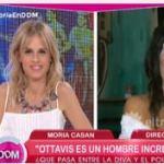 """Moria sobre Flor de la V: """"Me parece que es bruta y torpe"""""""
