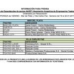 ADDET publicó las planillas de las obras de Carlos Paz y Mar del Plata