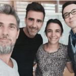 """Chato, Hoppe, Polino, todavía en obras, preproducen """"Showmatch"""""""