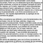 Marcelo Tinelli bajó a la Mole Moli