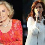 La respuesta de Mirtha Legrand a Cristina Kirchner