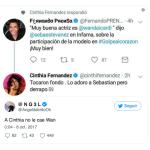 Se desató la polémica entre Cinthia Fernández y Wanda Nara