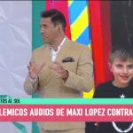 Aparecen nuevos y violentos audios de Maxi López a Wanda. Audio