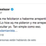Luciana Salazar furiosa con Damián Rojo