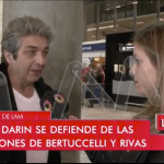 Ricardo Darin habló con LAM. Video