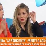Karina la Princesita la acomodó a Marina Calabró