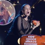 La terrible caída de Natalia Oreiro en los Kids' Choice Awards Argentina 2018