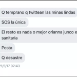 Natacha Jaitt y Martín Ciccioli se cruzaron en Twitter