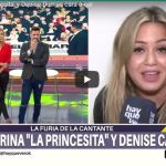 """El tremendo cruce al aire de Karina La Princesita con Denise Dumas: """"Sos una maleducada"""""""