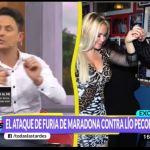 Diego Maradona le envió un audio homofóbico al periodista Lio Pecoraro