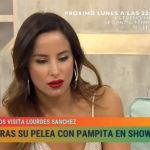 Lourdes Sánchez le pidió perdón a Pampita