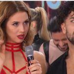 La tristeza de Flor Vigna cuando Tinelli le contó al aire que Occhiato ya tenía nueva novia