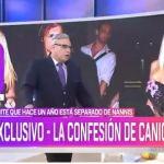 """Caniggia confesó: """"Hace un año y medio que estamos separados con Mariana"""""""