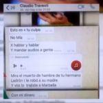 Separación y escándalo: los fuertes chats entre Claudio Caniggia y Mariana Nannis