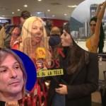 Escandalosa llegada al país de Mariana Nannis: fuertes declaraciones contra Claudio Caniggia y su nueva pareja