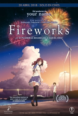 "Cartel de ""Fireworks"""
