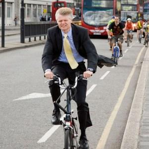 El uso de la bicicleta siguen creciendo en Londres