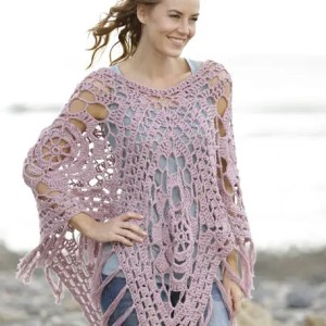 Kit Poncho Rhapsody in Rose