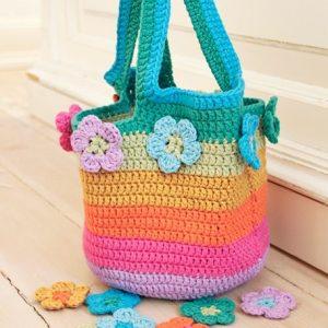 Kit Bolso Flower Market Bag