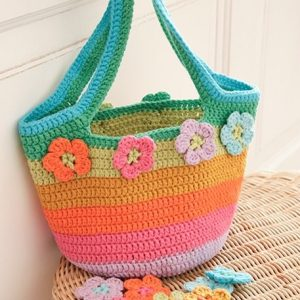Kit Bolso Flower Market Bag