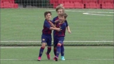 Photo of El gol de Thiago Messi en las inferiores del Barcelona que se hizo viral
