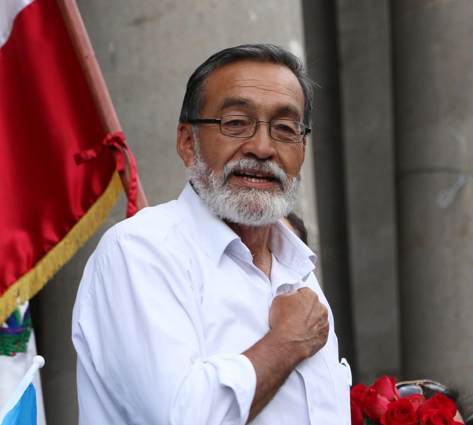 Grijalva durante su discurso tras conocer la victoria en las elecciones de 2015. Foto por: Patricia Macías