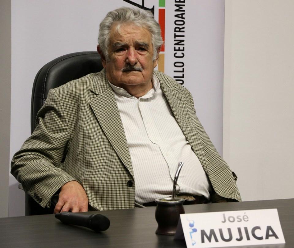 Mujica en la Ciudad de Guatemala, 2015. Foto por Patricia Macías