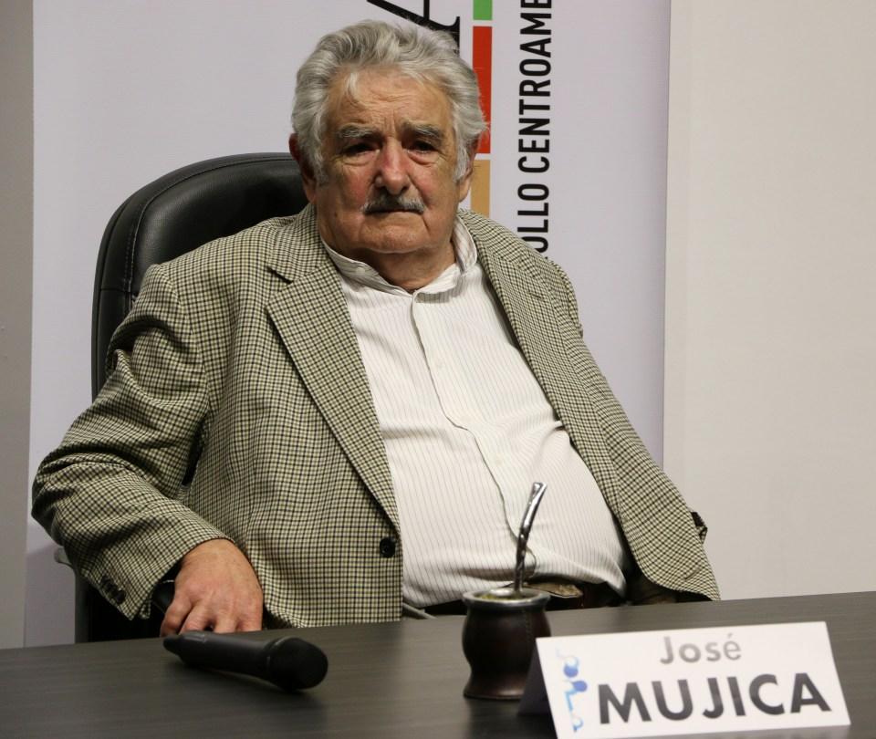 Mujica at the Regional Forum Esquipulas, 2015. Photo by Patricia Macías