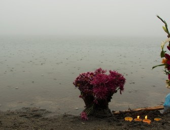 Día del agua en la laguna sagrada de Chicabal