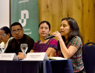 Icefi study shows discrimination in government spending on Maya communities