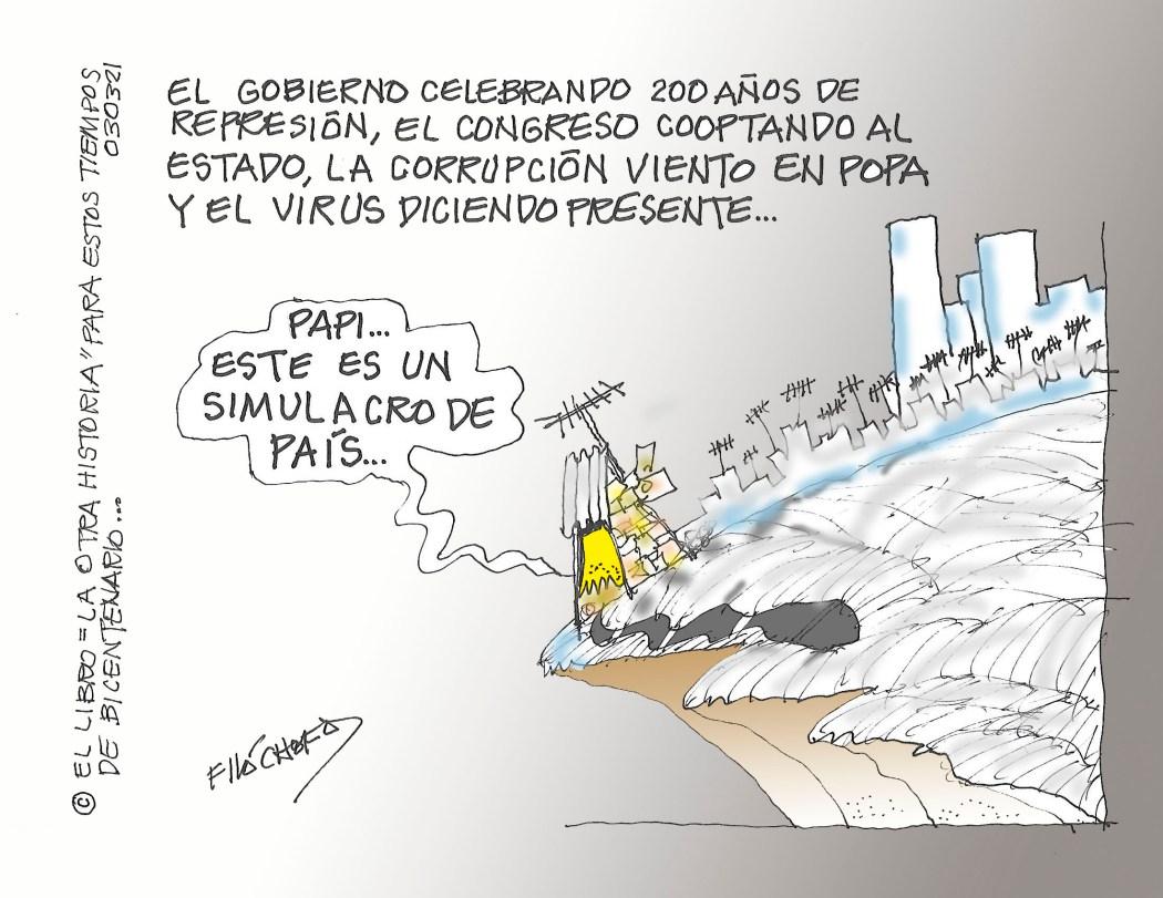 BICENTENARIO DE GUATEMALA-REPRESION