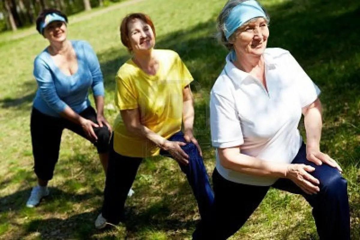 Actividad fsica en personas mayores  Entrenamiento