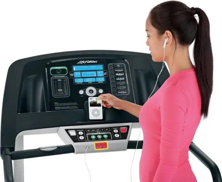 Entrenamiento físico en la cinta de correr