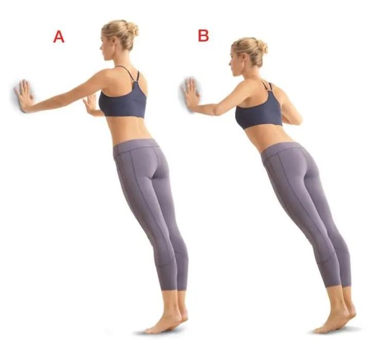 Flexiones de pie