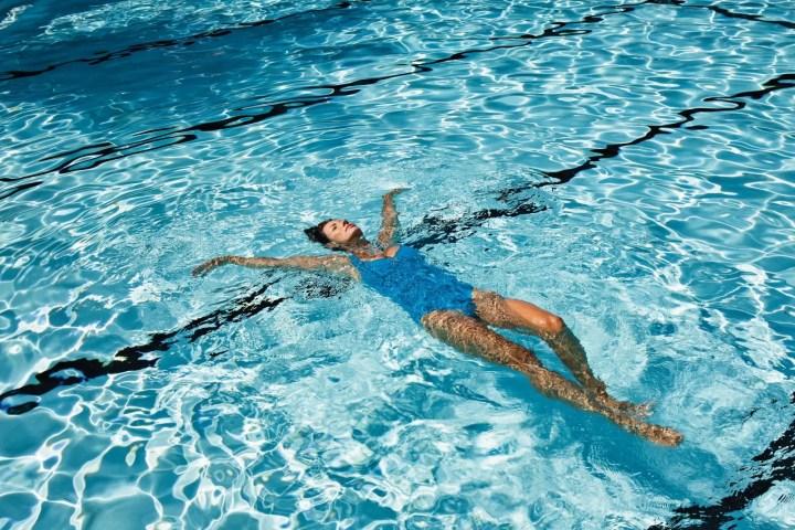 flotabilidad en la natación