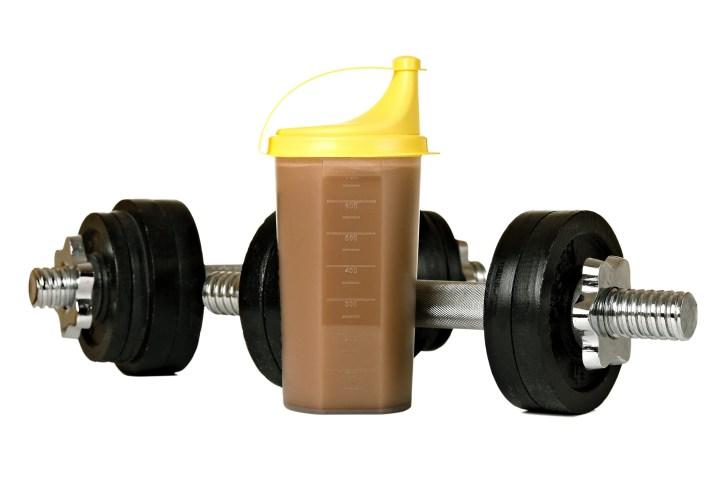 Consumo de caseína para mayor masa muscular