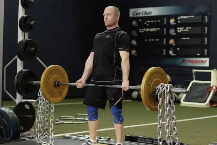 Powerlifting con cadenas