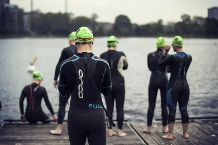 Cómo afrontar la prueba de natación de un Ironman