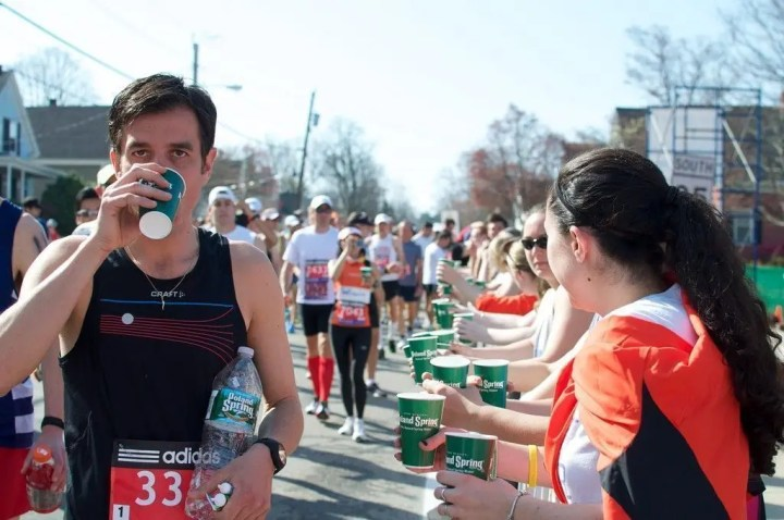 Hidratación para runners
