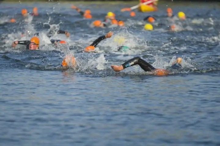 Errores típicos de nadar en aguas abiertas