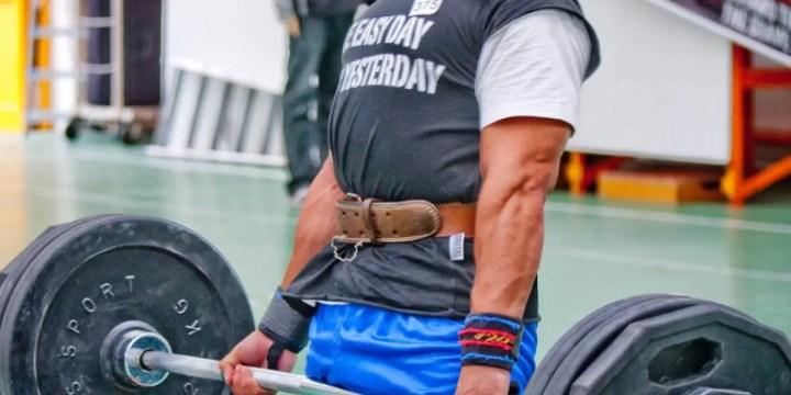 ¿Cuándo usar el cinturón para levantar pesas?