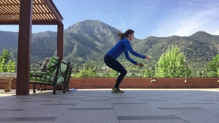 Entrenamiento pliométrico para runners