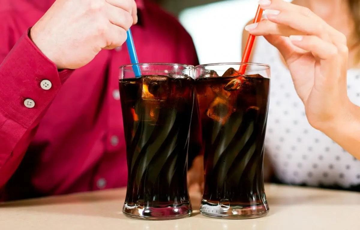 La coca de dieta tiene cafeina