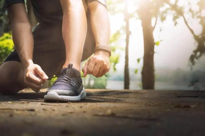 Un buen calzado es importante para un maratonista
