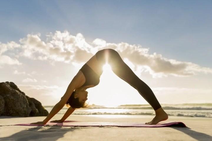 El yoga está considerado como una actividad desestresante